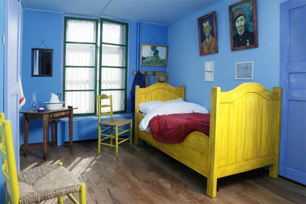 De slaapkamer van Vincent van Gogh | Riche Boxmeer